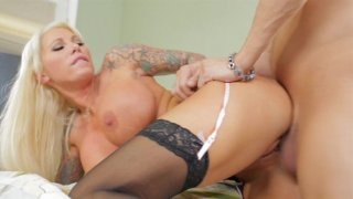 Streaming porn video still #8 from Busty Cougars