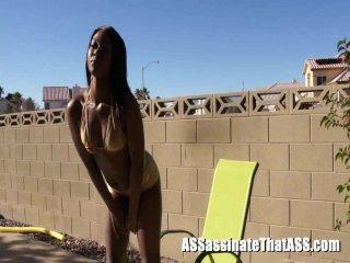 Streaming porn video still #2 from Black Booty Assassin