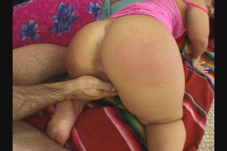 Streaming porn scene video image #5 from Horny midget slut riding big cock