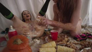 Streaming porn video still #6 from Fetish Fanatic 21: The Extreme Sploshing Edition
