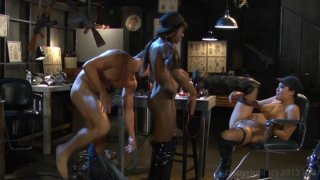 Streaming porn video still #5 from This Ain't The Expendables XXX in 3D
