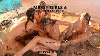 Streaming porn video still #9 from Messy Girls 6