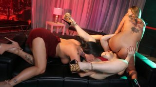 Streaming porn video still #6 from Lesbian In Love