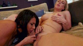Streaming porn video still #6 from Lesbian Anal Trainers Vol. 2