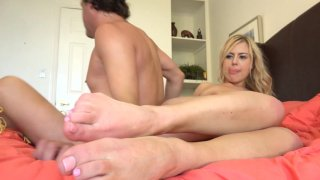 Streaming porn video still #9 from Barefoot Confidential 95
