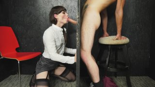 Streaming porn video still #2 from Transsexual Glory Holes