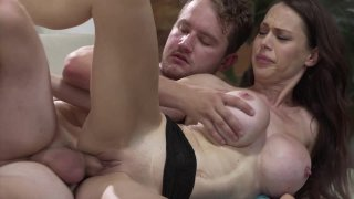 Streaming porn video still #9 from Lusty Busty MILFs On The Job