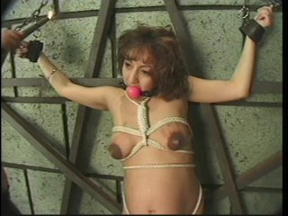 Streaming porn scene video image #7 from Pregnant Whore Gets Punished