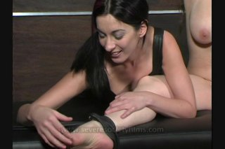Streaming porn video still #6 from Very Best Of Tied N Tickled 2, The