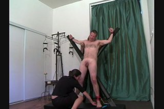 Streaming porn video still #5 from Very Best Of Tied N Tickled 2, The