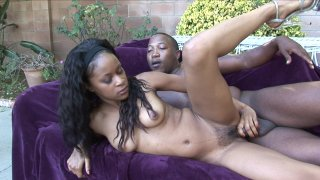 Streaming porn video still #8 from Two Sistas For One Brotha