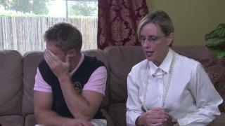 Streaming porn video still #2 from Mother-Son Secrets