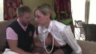 Streaming porn video still #5 from Mother-Son Secrets