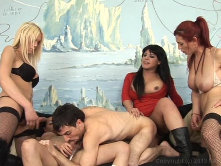 Latina maid in bondage