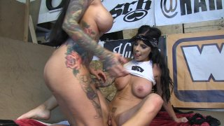 Streaming porn video still #8 from Chopper Whores