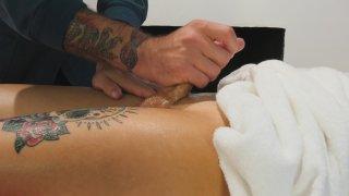 Streaming porn video still #4 from Trans Massage