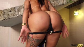 Streaming porn video still #1 from TS Cock Strokers 25