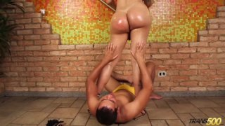 Streaming porn video still #3 from Big Booty T Girls Vol. 11