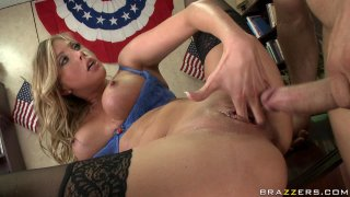 Streaming porn video still #9 from Big Tits In Uniform 8
