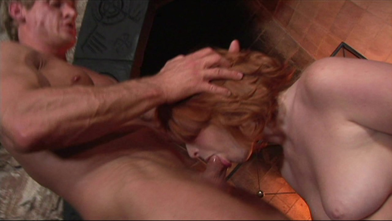Red Haired Babe Vixen Gets Cock Stuffed in Her Tight Ass HD streaming porn video scene.