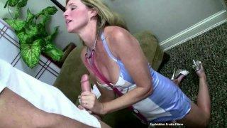 Streaming porn video still #6 from Hot MILF Handjobs #3