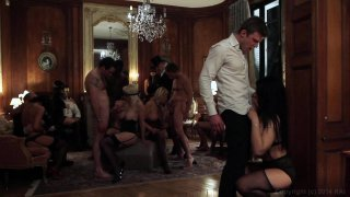 Streaming porn video still #6 from Orgy Anthology