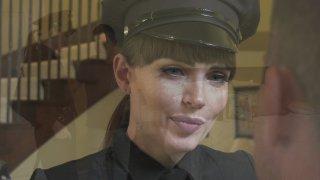 Streaming porn video still #1 from I Love A Trans In Uniform