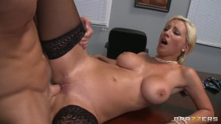 Streaming porn video still #6 from Big Tits At Work Vol. 18