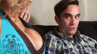 Streaming porn video still #1 from I Love My Mom's Big Tits