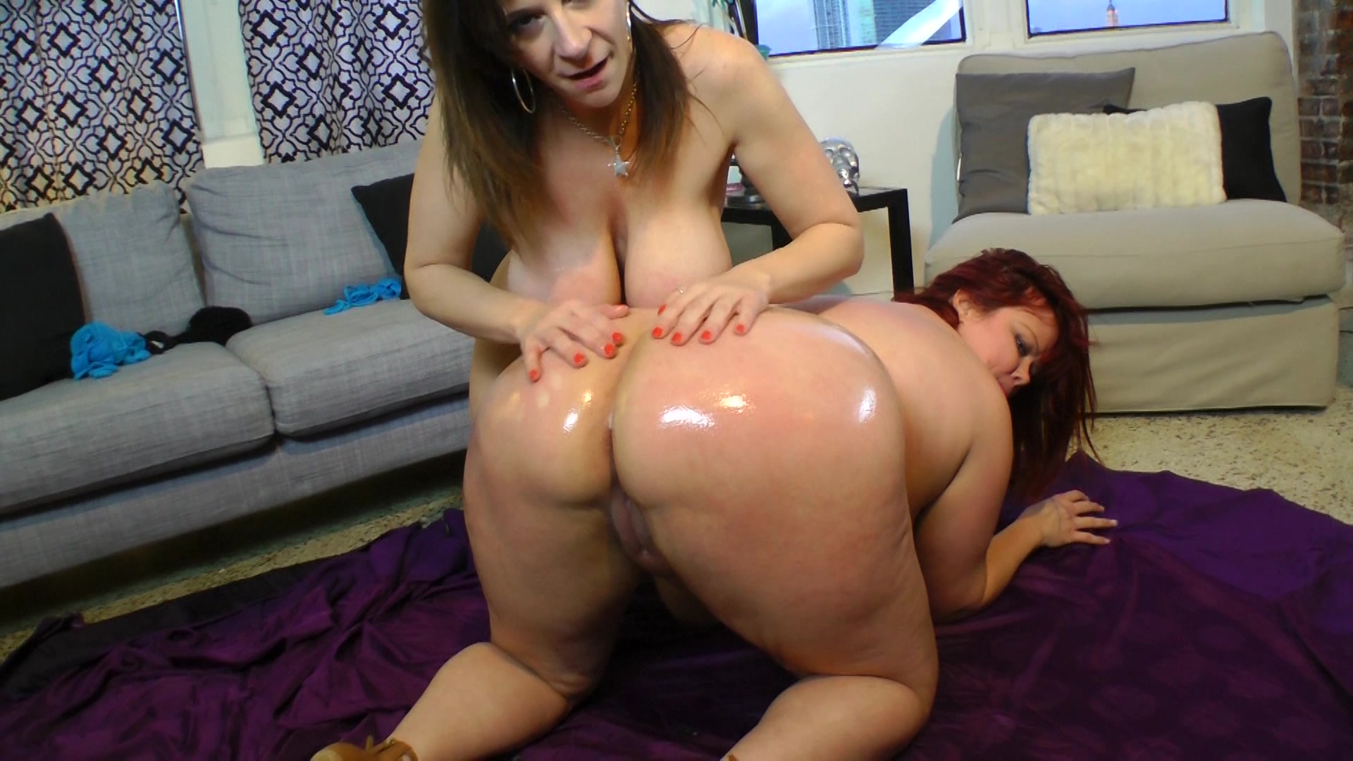 fatties girl in free video action