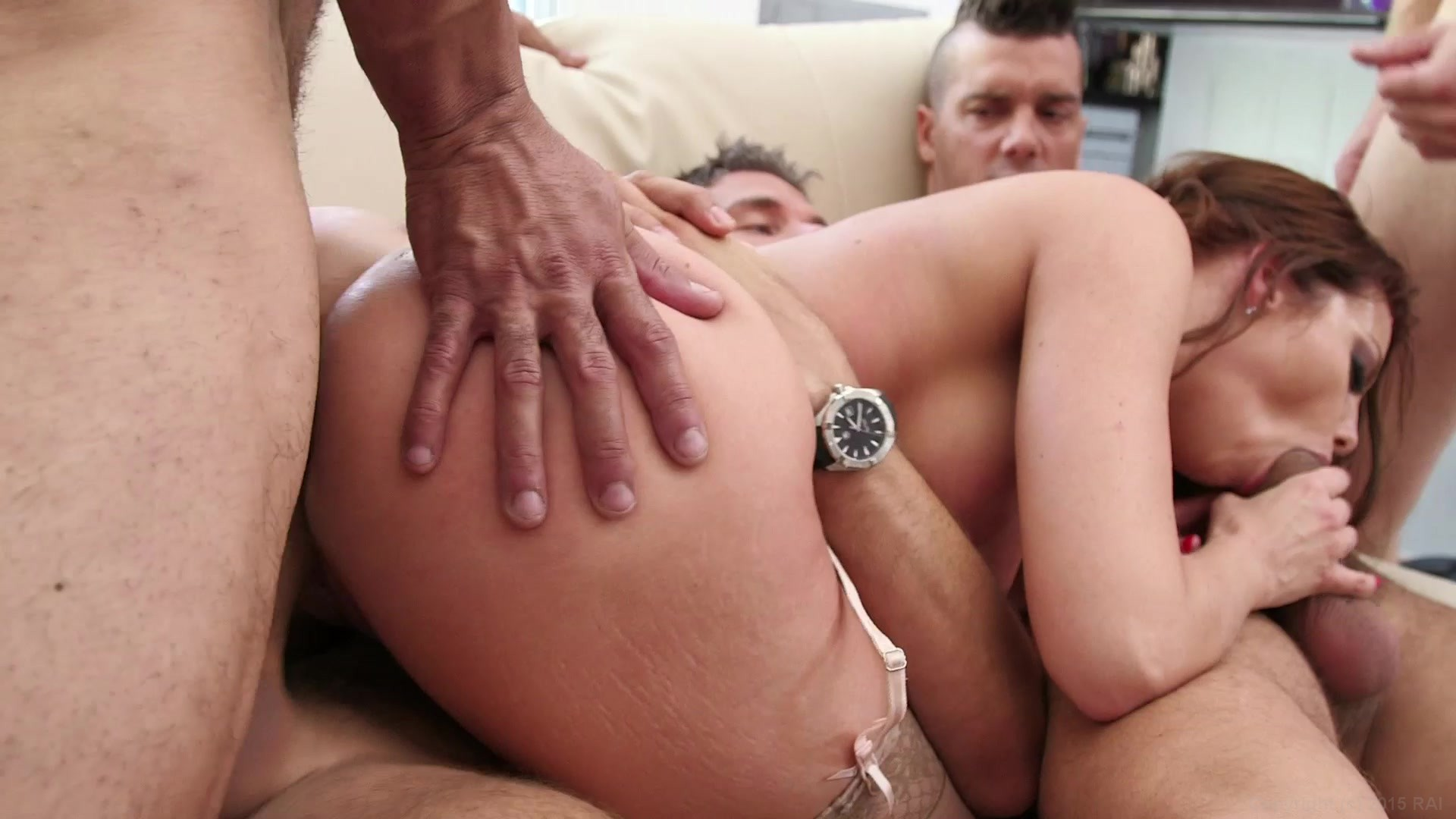 Gang bang facials and internal-2959