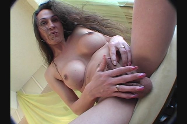 Streaming porn video still #1 from She-Male Strokers 13