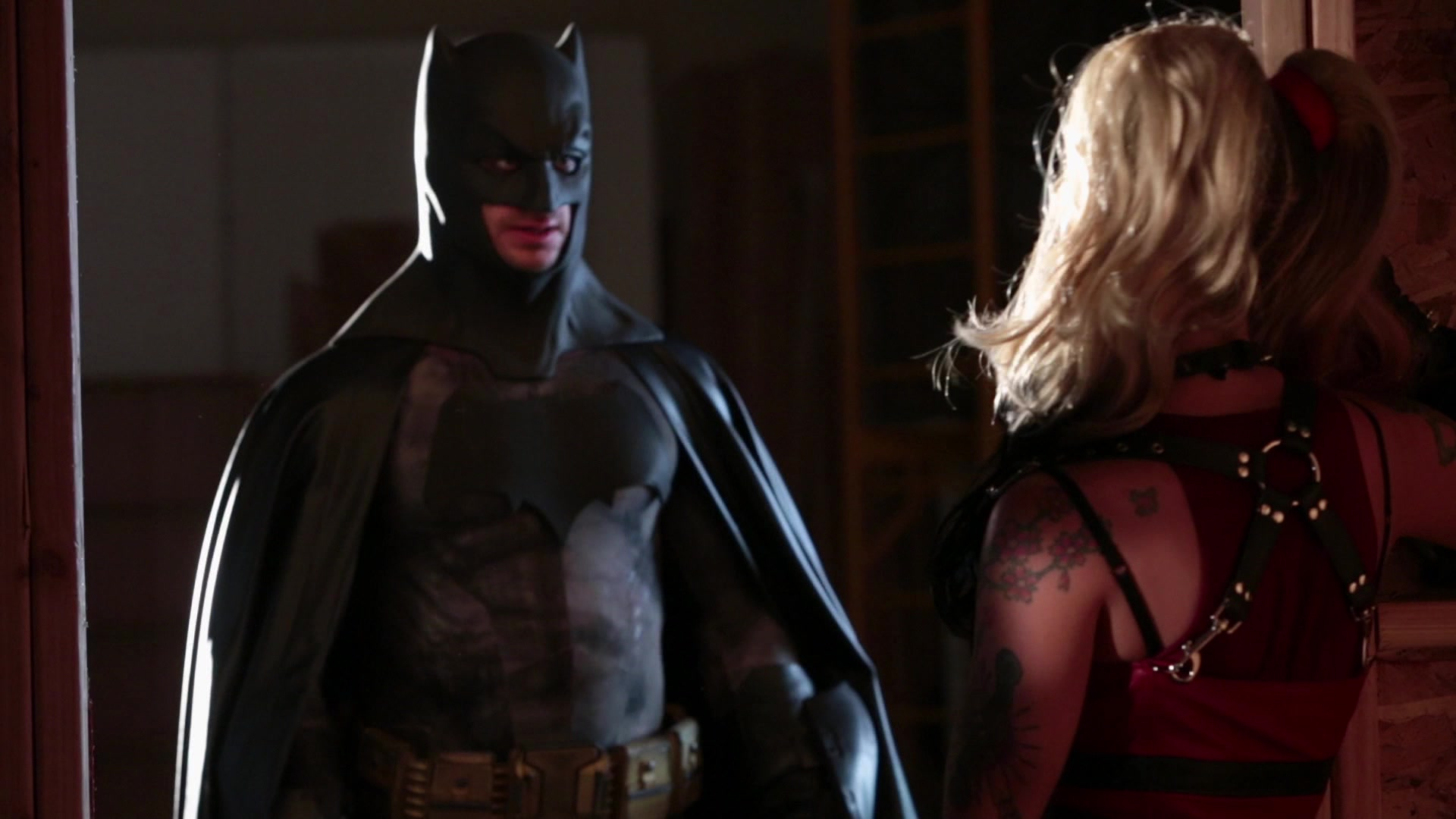 batman vs superman porn parody