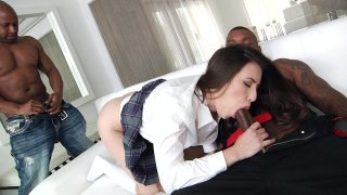 Streaming porn video still #2 from Interracial DP