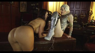 Streaming porn video still #4 from League Of Frankenstein