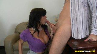 Streaming porn video still #2 from Big Tits Boss Vol. 17