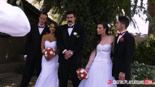 Streaming porn video still #9 from Wedding Belles