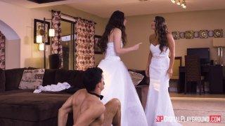 Streaming porn video still #13 from Wedding Belles