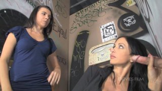 Streaming porn video still #3 from Mother & Daughter Cocksucking Contest 3