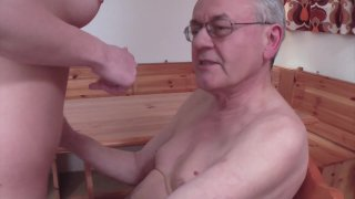 Streaming porn video still #7 from Don't Let Grandpa Babysit Your Daughter #3